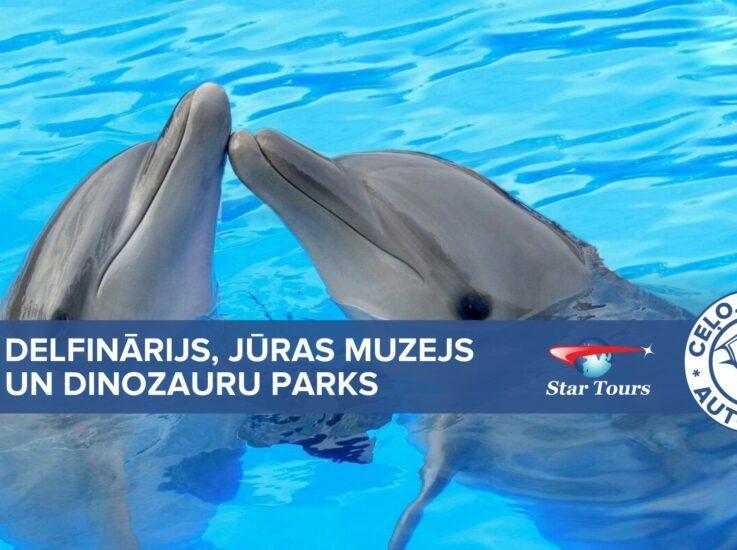 Ceļojums uz Lietuvu (Delfinārijs, Jūras muzejs un Dinozauru parks)!